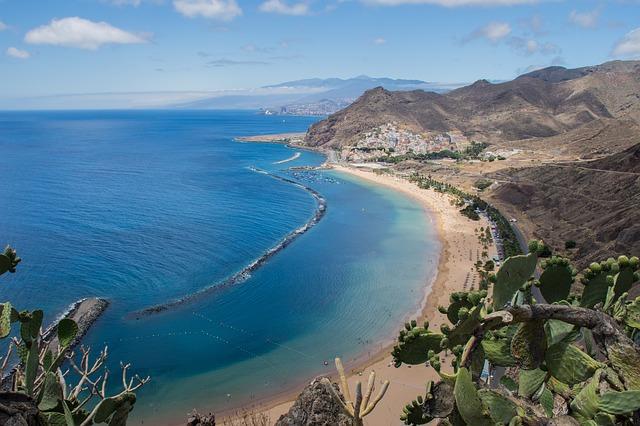Playa de las Teresitas strand