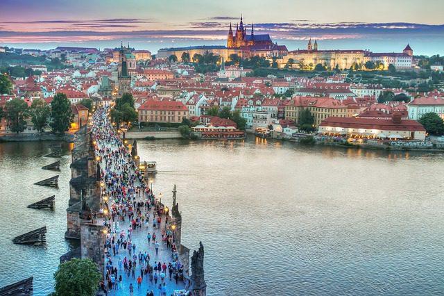 prága látnivalók térkép Prágai látnivalók A tól Z ig [térképpel]   netkoffer.hu prága látnivalók térkép