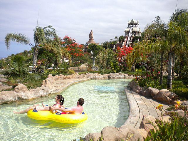 Siam Park, a vízi paradicsom