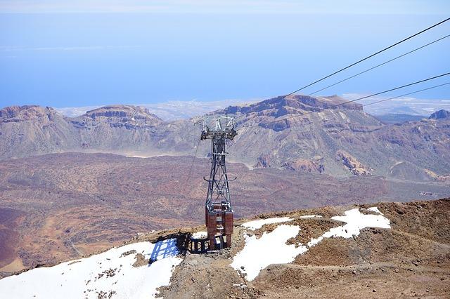 Felvonó a Teide csúcsához