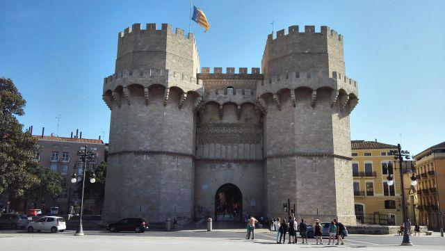 A Torres de Serranos tornyai