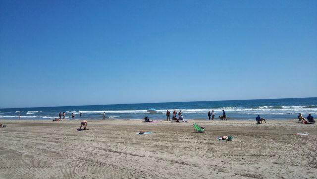 Valencia tengerpartja