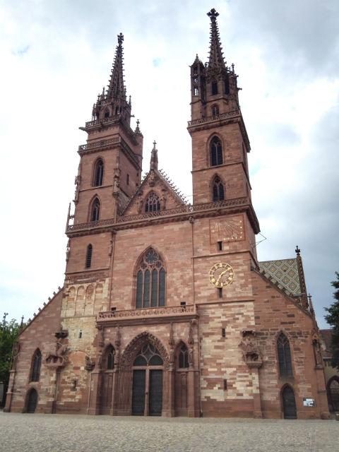 Münster, a bázeli katedrális