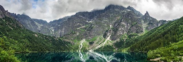 Morskie Oko, a Halas-tó vagy másnéven Tengerszem