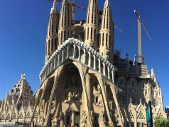 Sagrada Familia kívülről