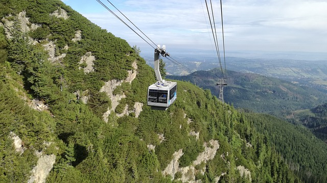 Felvonó a Gáspár-csúcsra, Zakopane híres látnivalójára