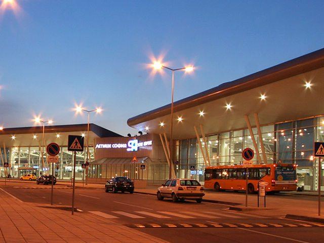 Szófia, repülőtér épülete