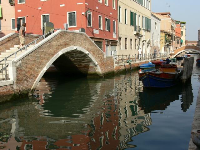 Velence egyik csatornája