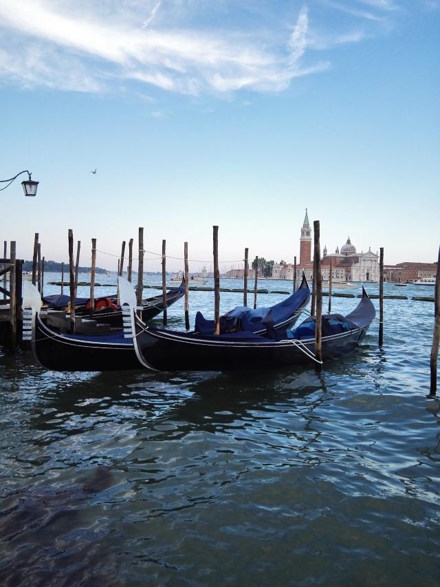 Gondolák Velencében