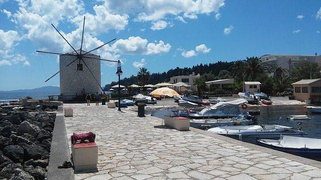 Korfu szigetén