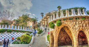 Güell Park lépcsősor