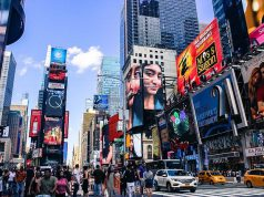 A New York-i Times Square nappal