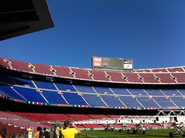 Camp Nou, a Barcelona stadionja