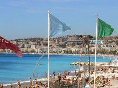 Nizza tengerparti sétány