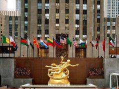 A Rockefeller Center az 5. sugárútról