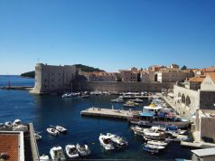 Dubrovnik kikötője