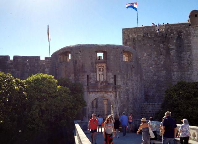 Városkapu Dubrovnikban