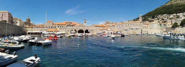 A dubrovniki kikötő