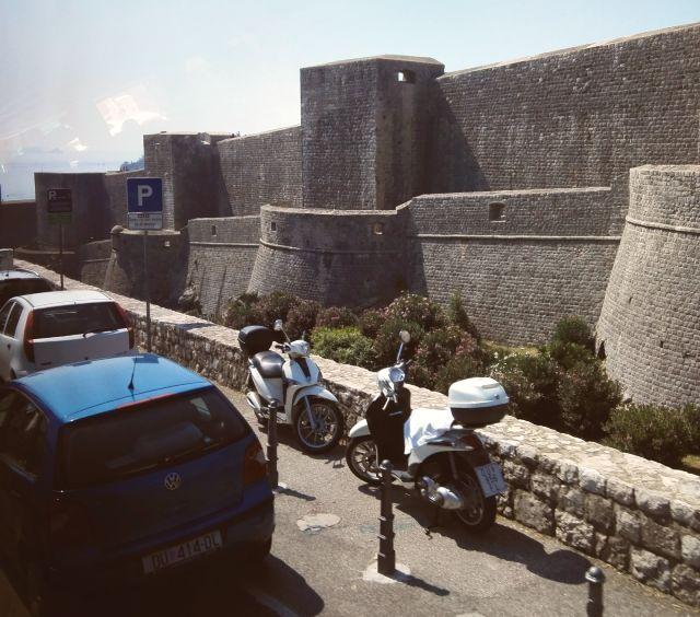 Parkoló Dubrovnikban