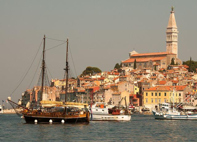 Hajókirándulás Rovinjból