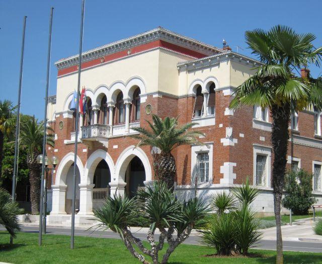 A Városháza karakteres épülete
