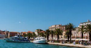 Split látnivalói a kikötőből