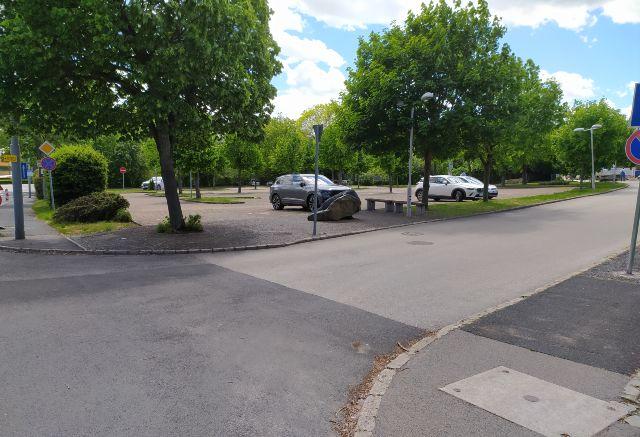 Borsos Miklós utcai parkoló