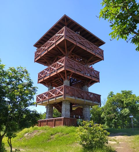 A hatalmas Őrtorony kilátó