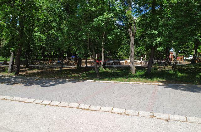 Park utcai parkoló