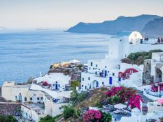 Santorini gyönyörű