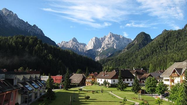 Szlovénia vidéki út