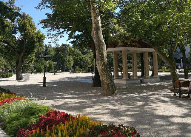 A Gyógy-tér Balatonfüreden