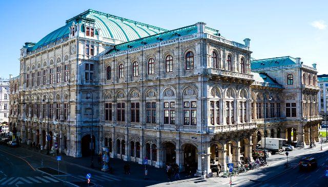 A Bécsi Operaház épülete
