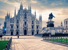 Milánói dóm közelről