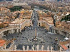 Kilátás a Szent Péter bazilika kupolájából