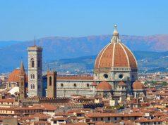 Firenzei dóm látképe