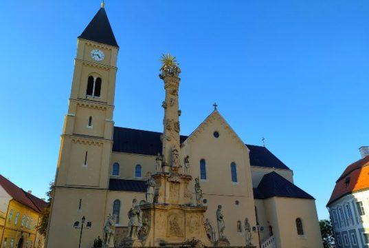 Veszprémi látnivaló a Szent Mihály templom